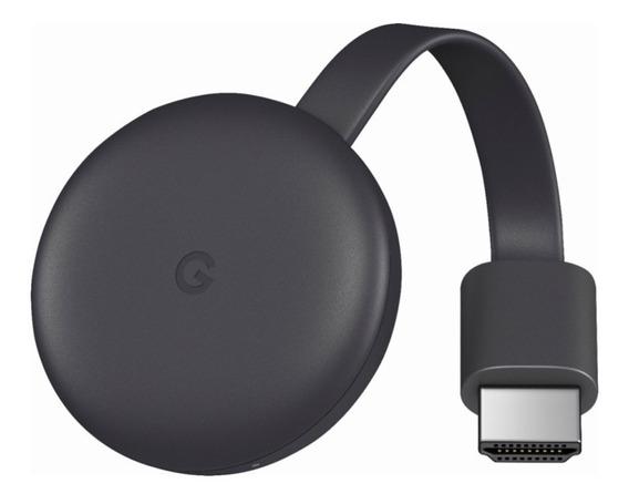 Google Chromecast 3 2019 Lançamento Original Lacrado 1080p