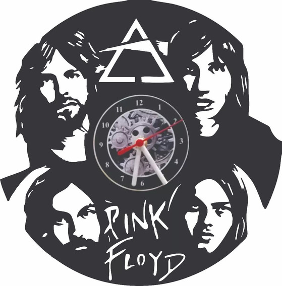 Relógio De Vinil - Pink Floyd