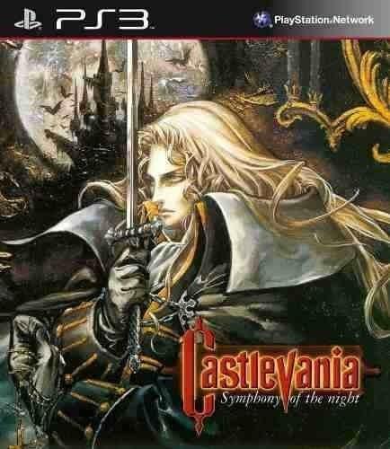 Castlevania Symphony Of The Night - Jogos Ps3 Playstation 3