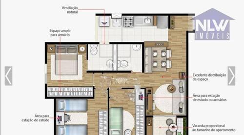 Imagem 1 de 1 de Apartamento Com 3 Dormitórios À Venda, 61 M² Por R$ 464.700,00 - Vila Antonieta - São Paulo/sp - Ap2690