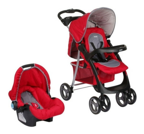 Coche Travel De Paseo Baby Silla Con Base Infanti Pompeya
