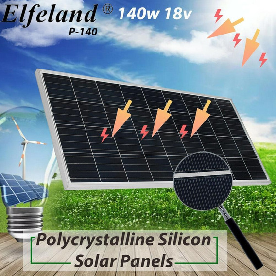 140w Polycrystalline - 10/150w 18v Poli Panel Solar Car-7481