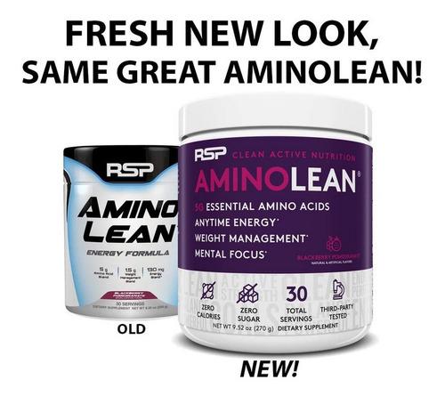 Rsp Aminolean - Amino Energy + Fat Burner, Pre Workout, Amin
