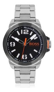 Reloj Hugo Boss Fondo Negro Orange Mod 1513153