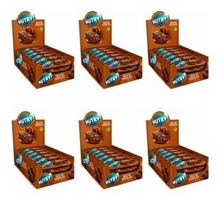 Nutry Barra De Cereal Bolo De Chocolate C/24 (kit C/06)
