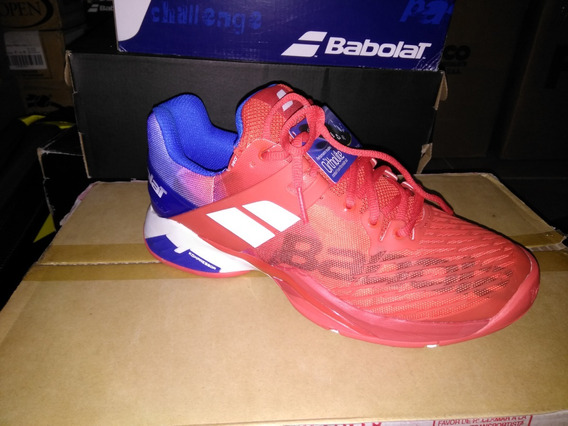 Tenis Babolat Propulse Fury Ac Red-blue