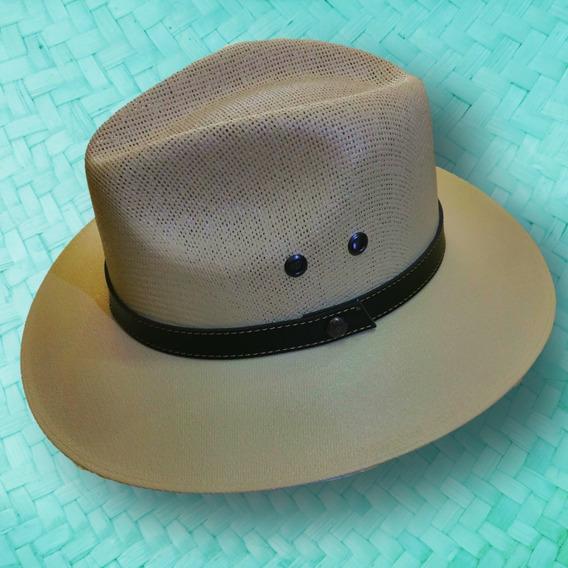 Sombrero Lona Mixta Explorer Australiano Tipo Panama