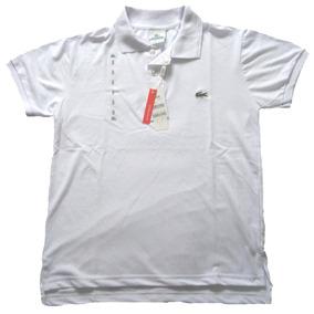 a2fe9a4a124 Camisa Polo Lacoste Branca N - Pólos Manga Curta Masculinas no ...