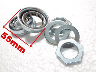 Repuesto Caja Y Bolillero Bicicletas Fijas Y Elipticos 55mm