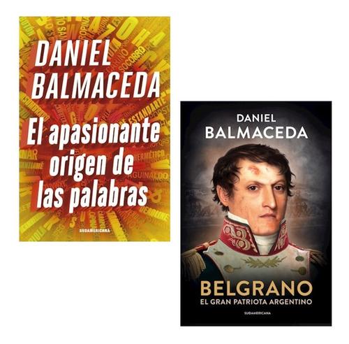 Pack Balmaceda - Apasionante Origen Las Palabras + Belgrano