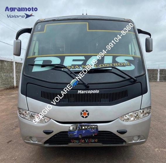 Micro Ônibus Agrale/marcopolo Sênior Executivo Cor Prata A