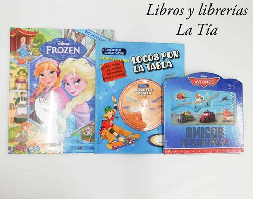 Imagen 1 de 1 de Libros, Súper Combo-trío Infantil A Todo Color