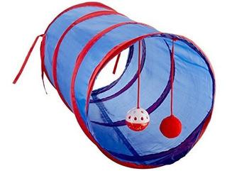 Kole Kiod476 Cat Tunnel Con Dangle Toys Talla Unica