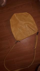 Cartera Bandolera Amphora Amarilla Cuero Ecológico/ No Cher