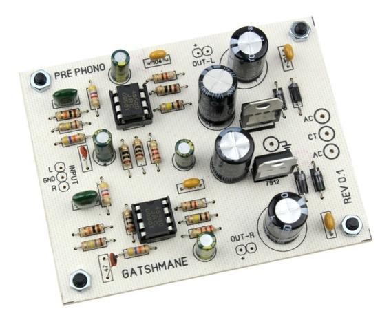 Placa Pre Amplificador Para Toca Discos Riaa