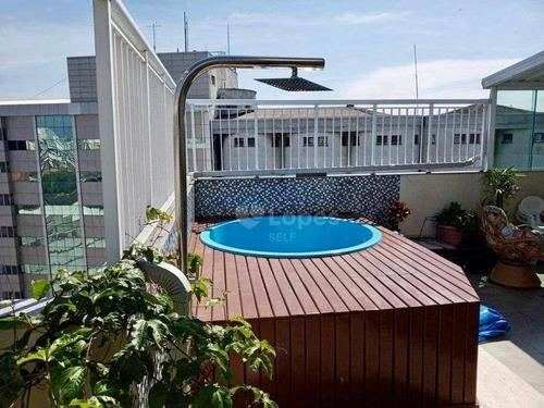 Cobertura À Venda, 130 M² Por R$ 670.000,00 - Centro - Niterói/rj - Co2258