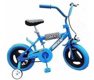 Bicicleta R 12 Niño Niña Freno Protecciones Envio Gratis