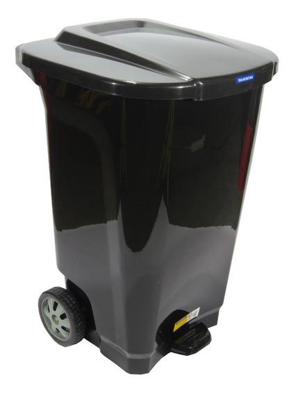 Cesto Residuos Tacho De Basura 100 Litros Tramontina Negro
