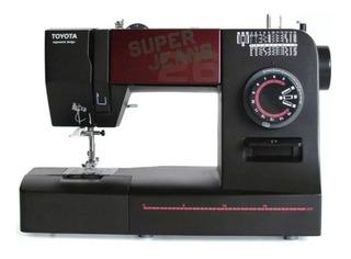 Máquina de coser Toyota Super Jeans 26 negra 220V