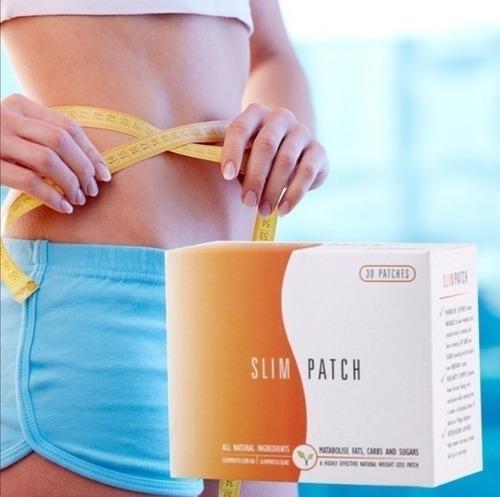 30 Parches Slim Patch + Chitosan Plus Adelgazannte