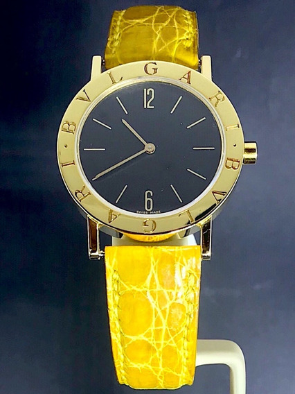 Relógio Bvlgari Bb 33 Ouro Amarelo 18k - Original