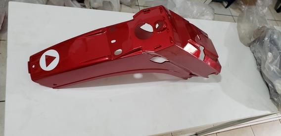 Paralama Traseiro Traxx Star 50cc Vermelho Original Traxx