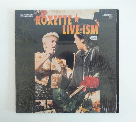 Roxette Live-ism Laser Disc Usa 1992 Muy Bueno Caba. Envíos