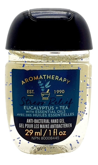 Gel Antibacterial Bath & Body Works Eucalyptus + Tea 29 Ml