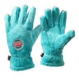 Guantes Niño Mini Degú Shaggy-pro Glove Turquesa Lippi