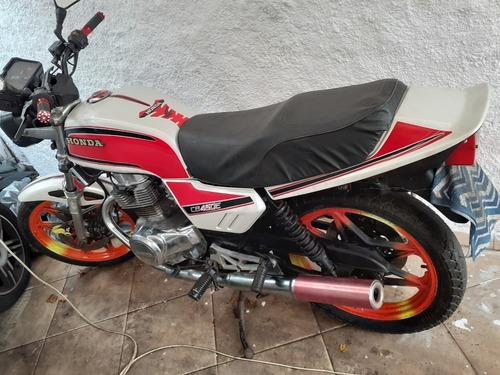 Honda Cb 450 - 1996 - Branco Pérola - Ac. Moto Menor Valor