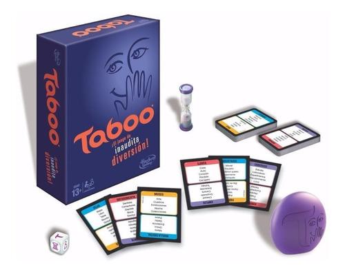 Juego Taboo Int 14017 Original Hasbro
