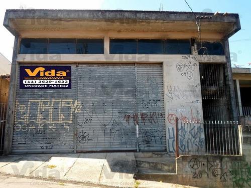 Imagem 1 de 15 de Galpão Para Aluguel, 340.0m² - 27209