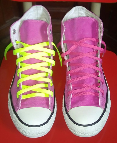Zapatillas Botitas Converse All Star Rosas