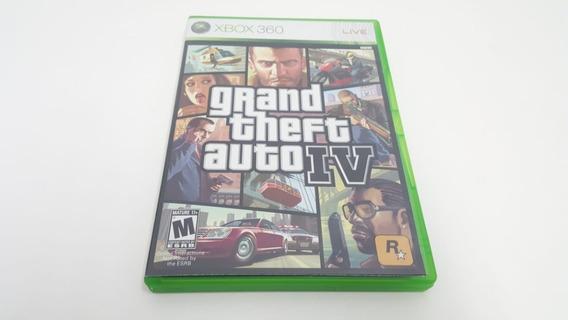 Jogo Grand Theft Auto 4 - Gta 4 - Xbox 360 - Original