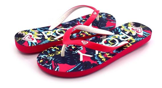 Sandalias Roxy Mujer Rojo Pink Tahiti Vi Arjl100719pnk