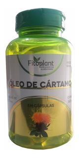 Óleo De Cartamo 60 Cápsulas 1000mg Caixa C/ 6 Potes
