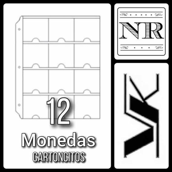 10 Hojas Para Monedas (cartoncitos) - Vk - Carpeta Chica 12