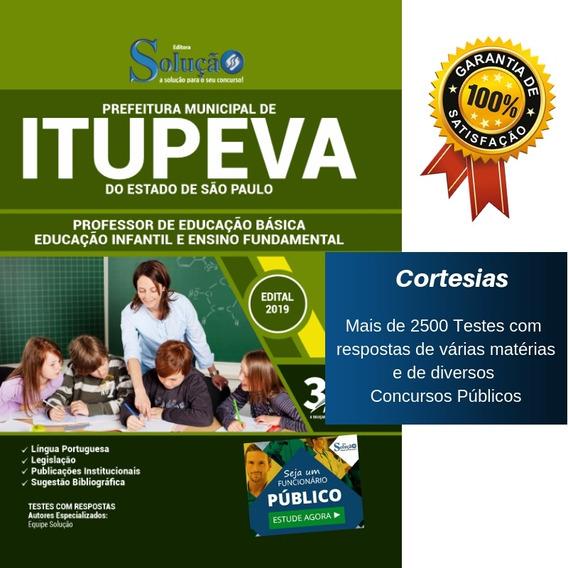 Apostila Professor Itupeva - Educação Infantil E Fundamental