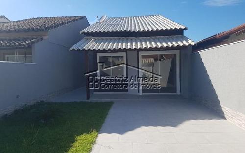Linda Casa No Barroco De 2 Qts (1 Suite), Sala Com Rebaixamento, Área Gourmet