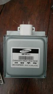 Magnetron Samsung Om75p(31) 6 Aletas Microondas
