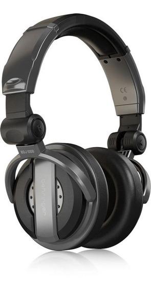 Fone Para Dj Behringer Bdj 1000 Headphone Fechado Dobrável
