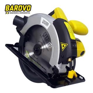 Sierra Circular 7-1/4´´ Profesional 1200w C/ Guía Láser   Barovo Cs12-a