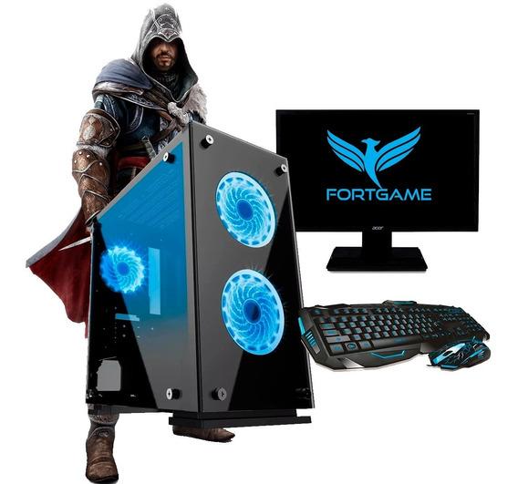 Pc Gamer Completo Barato - 8gb - Wifi + Jogos + 12x + Frete