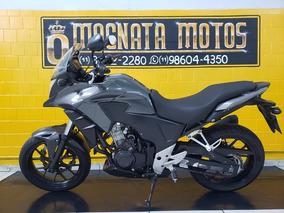 Honda Cb 500x - Cinza - 2015 Km 16.000.