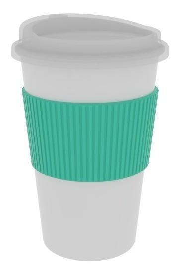 Taza Jarro Mug Termico Starbucks Tapa Agarradera Silicona