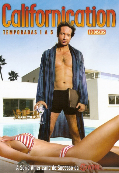 Box 10 Discos Californication - Temporadas 1 Á 5 - Novo***