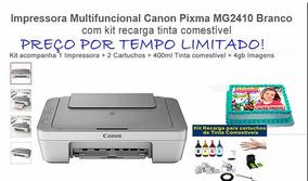 Impressora Para Papel Arroz C/ Tinta Comestível