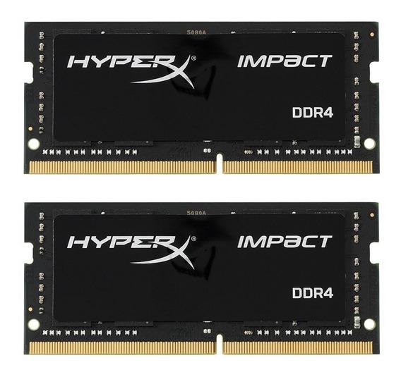 Memoria Ram Hyperx Impact 32gb Kit (2x16gb), Cl15 2666 Mhz