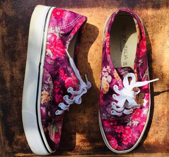 Zapatillas No Roxy No Rip Curl Mujer Rosa Flores