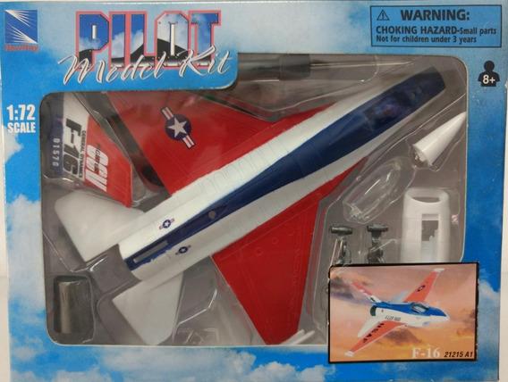 Kit Montar Avião F 16 New Ray 1:72